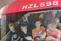 Děti si užily Záchranářský tábor.