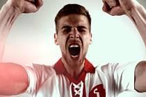 Fotbalisté Zlína nastoupí proti Slavii v bílo-červených retro dresech. Foto: