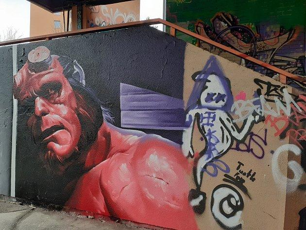 Zlínské graffiti: umění, nádhera iohavnosti.
