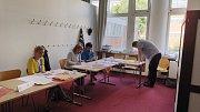 Volby do Evropského parlamentu ve Zlíně.