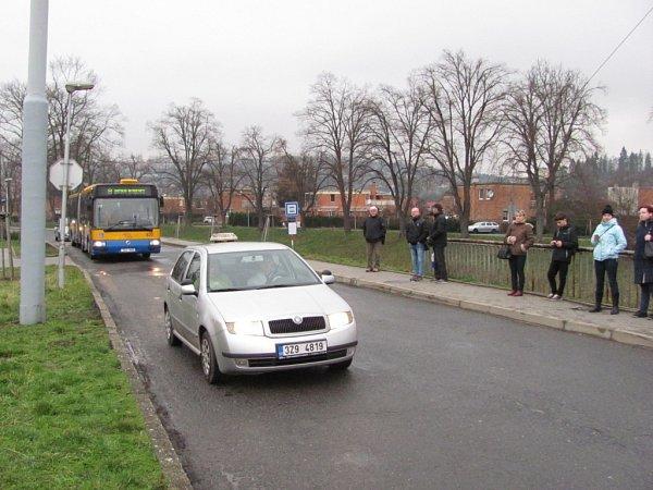 Sokolská MHD demolice objížďka náhradní trasa