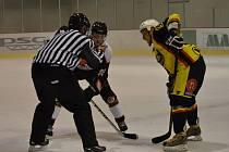 Amatérský hokej. Ilustrační foto