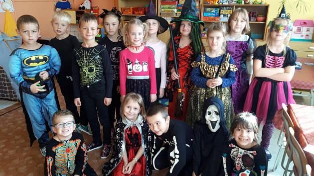 Halloween ve školní družině a klubu ve slavičínské škole
