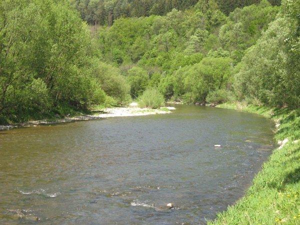 Vsetínská Bečva, Jarcová-Bystřička - běžný stav