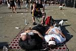 Festival Masters of Rock navštívilo letos asi 25 tisíc fanoušků tvrdé muziky.