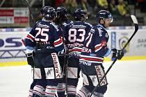 Hokejisté Zlína proti Vítkovicím