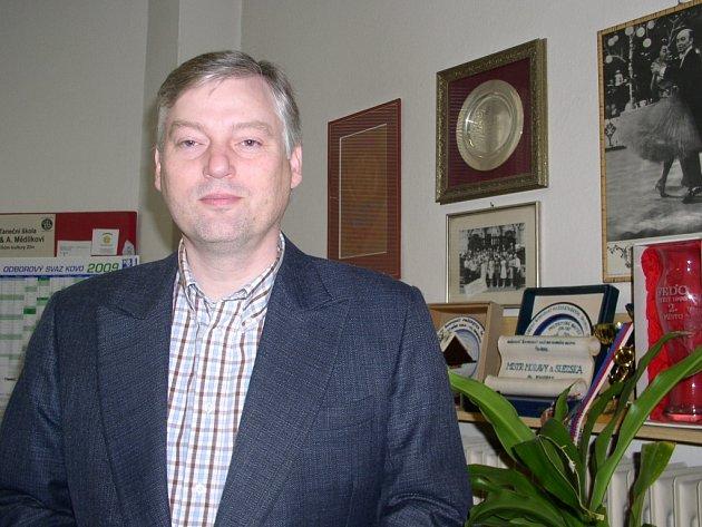 Taneční pedagog Aleš Mědílek.
