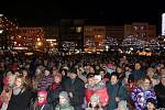 Česko zpívá koledy na náměstí Míru ve Zlíně