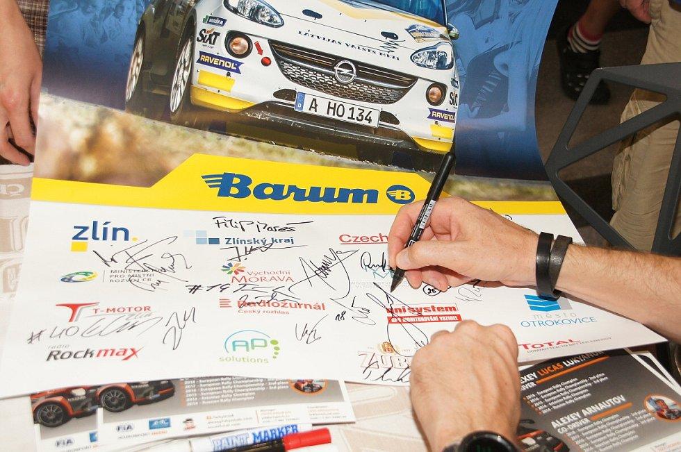 Autogramiáda Barum Rally 2019