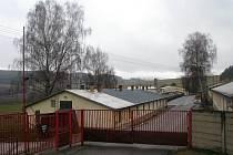 Objekt bývalých kasáren u Slavičína teď využívá Klub vojenské historie Army park Slavičín.