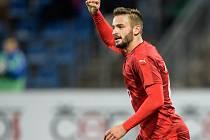 Útočník Slovácka Tomáš Zajíc pomohl české fotbalové jednadvacítce ke kvalifikační výhře nad San Marinem