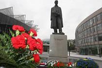 Socha prezidenta Tomáše Garrigue Masaryka ve Zlíně