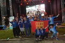 """SDH Brumov """"B"""" – obhájce vítězství prestižní Slovensko-Moravské hasičské ligy v roce 2019"""
