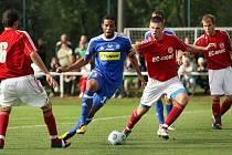 Spytihněv/ Slovácká Sparta Spytihněv hostila ve středu 10. srpna fotbalisty ze Sigmy Olomouc. Favorit z Hané nakonec zvítězil 3:2.