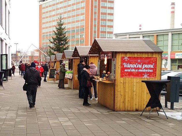 Vánoční ulička bude až do 23. prosince