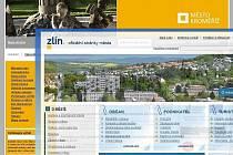 Weby města Zlína a Kroměříže
