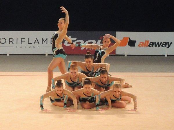 Gymnastky sbíraly na MS vLahti zkušenosti