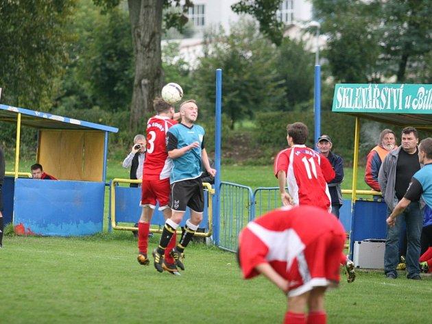 Fotbal OP Zlín: Louky - Bratřejov