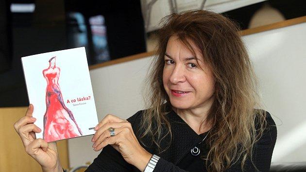 Šárka Šišková  a kniha A co láska?