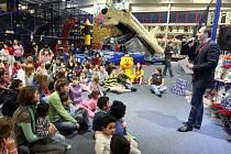 Charitativní koncert pro dětské domovy ve Zlíském kraji v dětském zábavném parku Galaxie ve Zlíně.