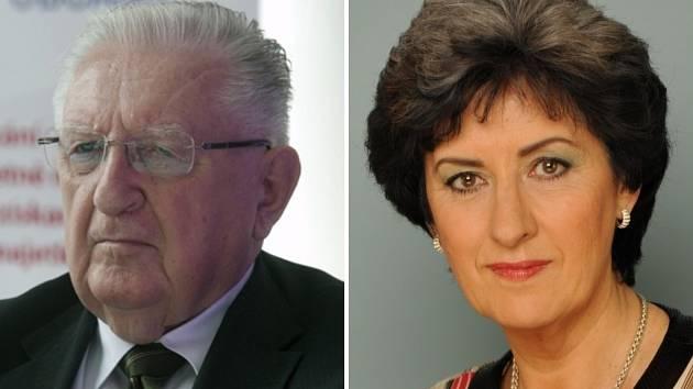 O senátorské křeslo se utká v druhém kole Alena Gajdůšková s Františkem Čubou
