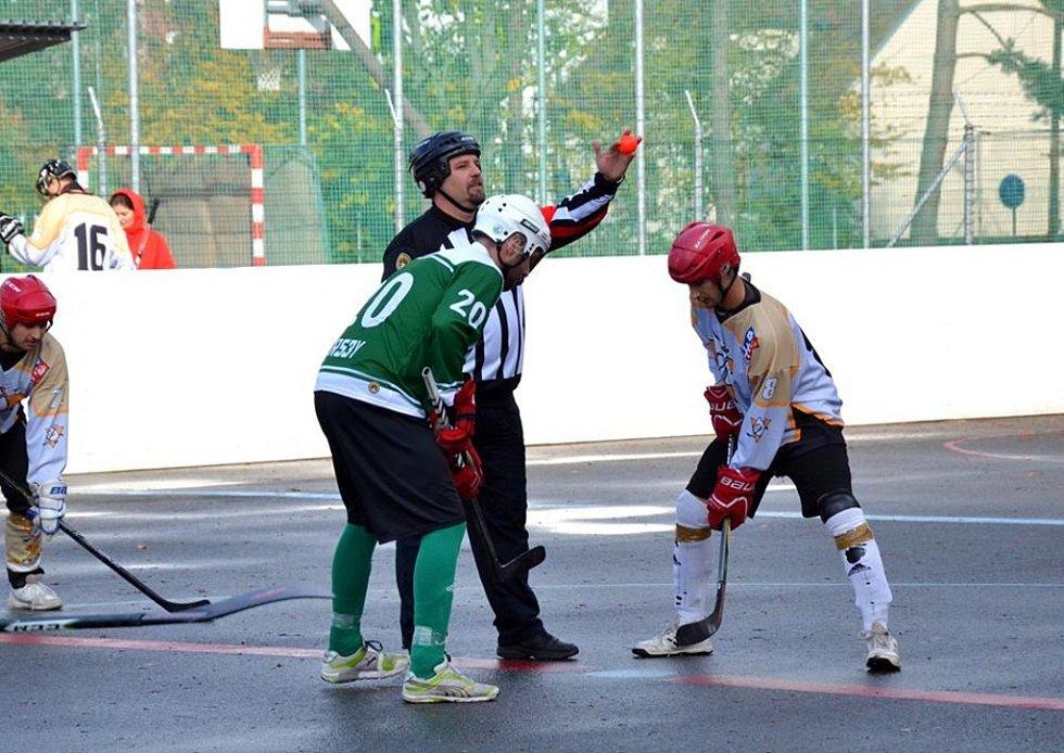 2. liga hokejbalu Malenovice-Přibyslavice