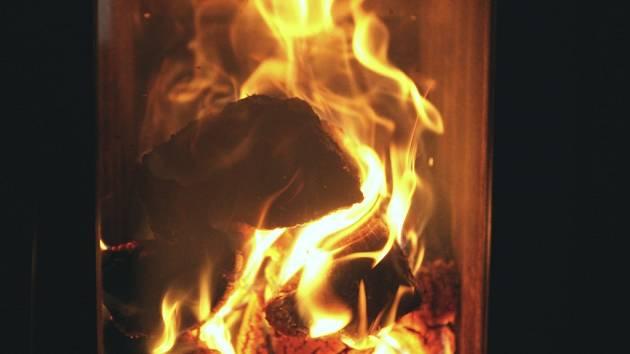 Když v kamnech hoří...