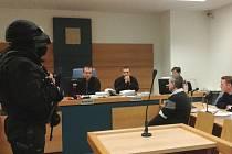 Radek Březina u soudu. Ilustrační foto z dubna 2015