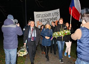 Připomínka 17. listopadu ve Zlíně 2017