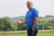 Příprava fotbalistů FC FASTAV Zlín. Michal Bílek
