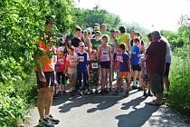 Běh na 2 míle ve Zlíně, červen 2016