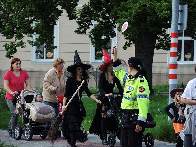 Pálení čarodějnic ve Štípě.