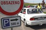 Parkoviště u ZOO Lešná. Ilustrační foto