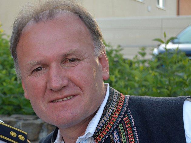 Starosta obce Strání Antonín Popelka.