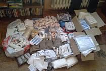 TÉMĚŘ VŠECHEN zdravotnický materiál z první sbírky byl předán do dětského domova v Doněcké oblasti.