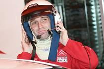 Pilot Antonín Tlusťák.