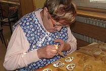 Výuka zdobení perníčků ve Fryštáku