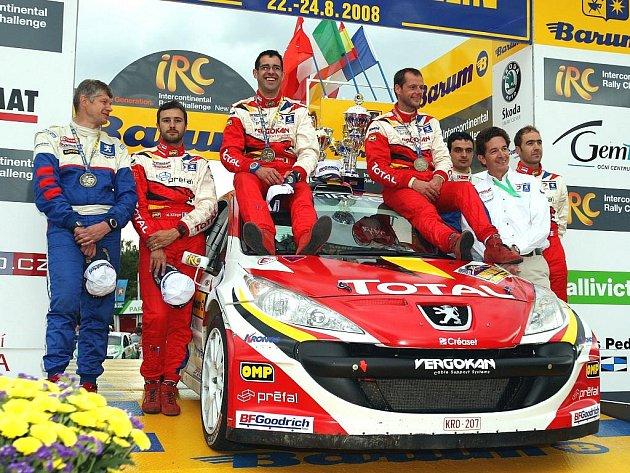 Vítězem loňského ročníku Barum rally se stal Belgičan Freddy Loix. Zopakuje svůj výsledek i o víkendu?