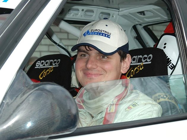 Závodník Lubomír Minařík.
