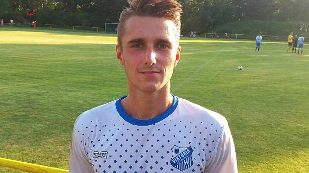 Otrokovický fotbalista Tomáš Mlýnek