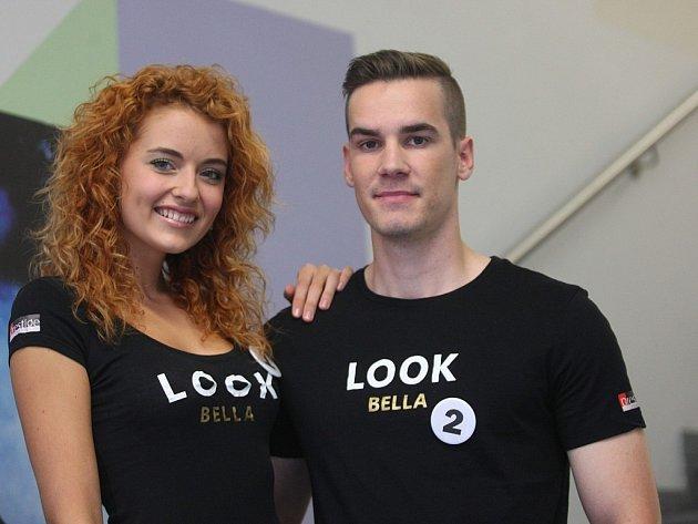 XII. ročník prestižní soutěže krásy LOOK BELLA casting v obchodním centru Zlaté jablko ve Zlíně.