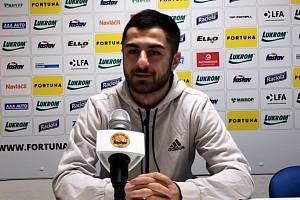 Pětadvacetiletý fotbalista Vachtang Čanturišvili má ševcům pomoct k co nejlepším výsledkům.