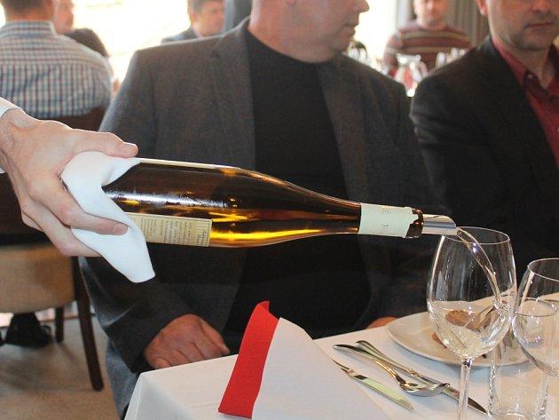 Mladá vína přivítali i v Luhačovicích