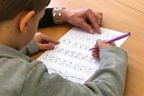 Zápis do první třídy. Ilustrační foto