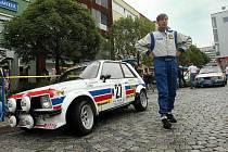Star Rally Historic na Barum Czech Rally. Ilustrační foto