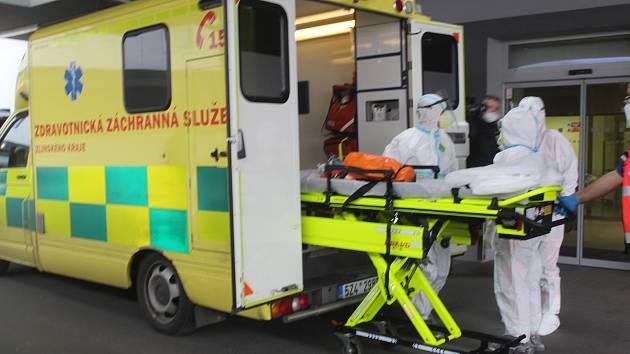 Zdravotnická záchranná služba Zlínského kraje. Ilustrační foto