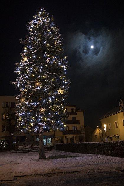 Vánoční strom Fryšták