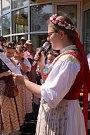 Otevírání pramenů v Luhačovicích
