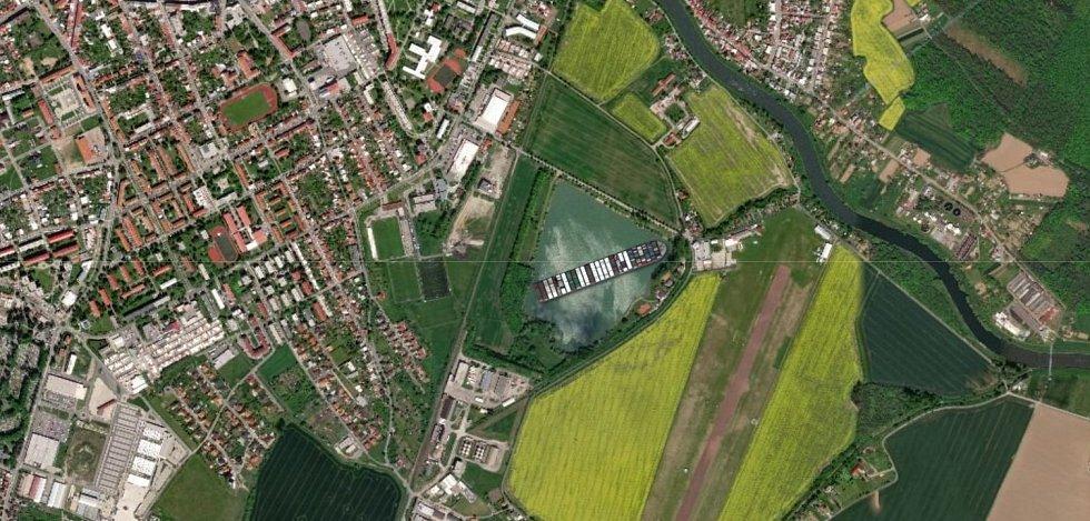 Hrubý rybník u Kroměříže