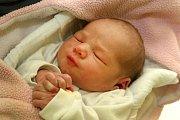 První miminko narozené v roce 2016 ve Zlíně Olivie Marušáková v porodnici v Krajské nemocnici T. Baťi ve Zlíně.
